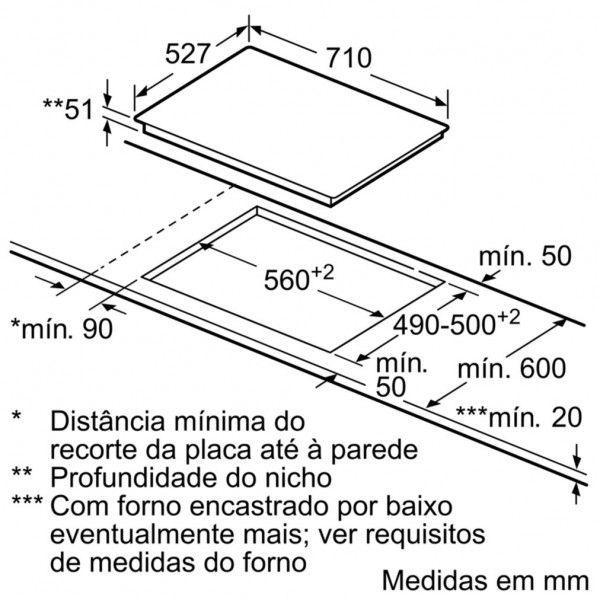 PLACA BOSCH - PVS775FC5E