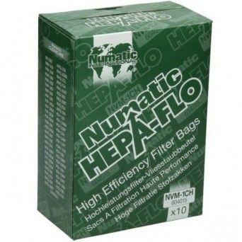 Sacos de aspirador Numatic NU604015