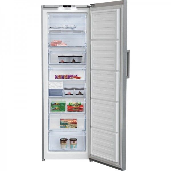 Congelador vertical inox Beko - RFNE312I31XBN
