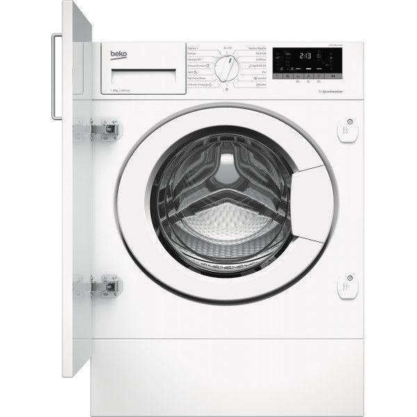 Máquina de Lavar Roupa Beko Encastre - WITV 8612 XW0R