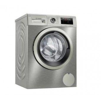 Máq. Lavar roupa inox 9kg Bosch WAU28PHXES