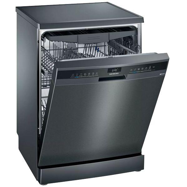 Máq. Lavar Loiça black inox Siemens - SN23EC14CE