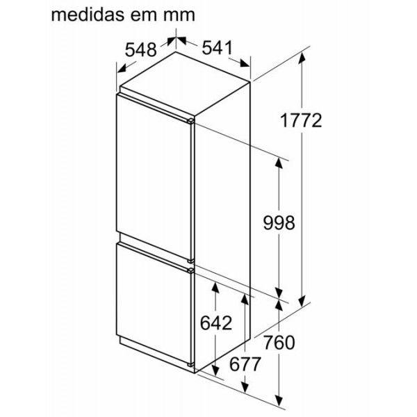 Combinado Siemens - KI86V5SF0