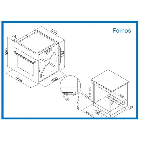 FORNO MEIRELES - MF7604X