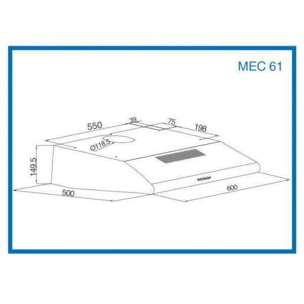 EXAUSTOR MEIRELES - MEC61X