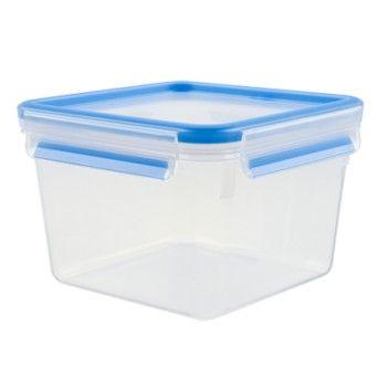 Tefal Caixa p/ conservação de alimentos quadrada em plástico 1,75 l azul - K3021712