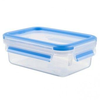 Tefal Caixa para conservação de alimentos retangular em plástico 0,8 l azul K3021812
