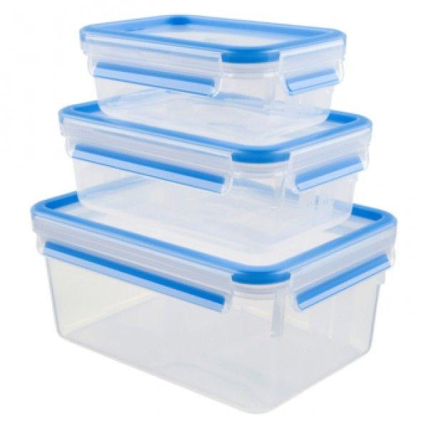 Tefal Masterseal Plástico Set 3 Peças K3028912