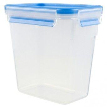 Tefal Caixa para conservação de alimentos retangular em plástico 1,6 l azul K3021912